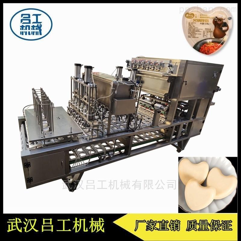 100g火锅牛油灌装封口机 异性盒封盒机